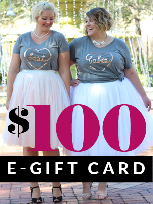 Plus Size Clothing for Women - $100 Gift e-Card - Society+ - Society Plus - Buy Online Now!