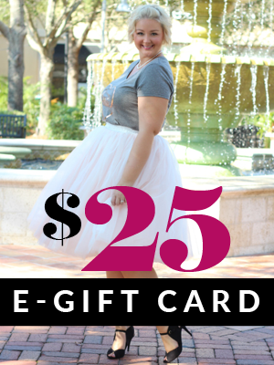 Plus Size Clothing for Women - $25 Gift e-Card - Society+ - Society Plus - Buy Online Now!