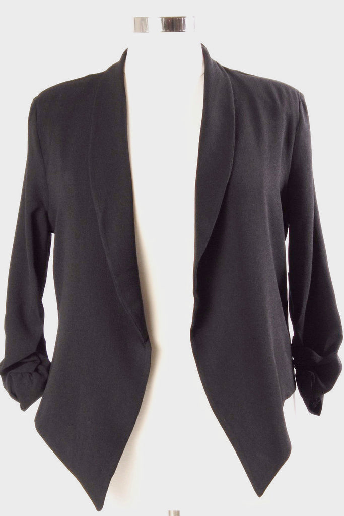 Plus Size Clothing for Women - Hadlee Structured Blazer - Black - Society+ - Society Plus - Buy Online Now! - 1