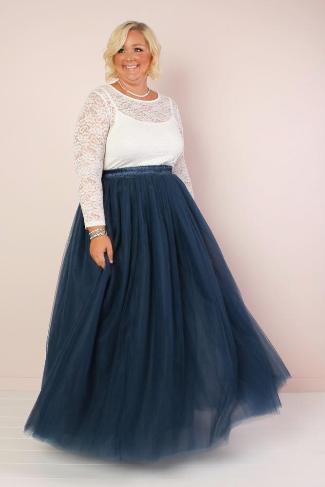 Society+ Long Tutu - Navy