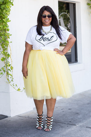 Plus Size Clothing for Women - Society+ Premium Tutu - Buttercup - Society+ - Society Plus - Buy Online Now! - 5