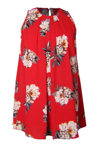 Tropic Sleeveless Shift Dress