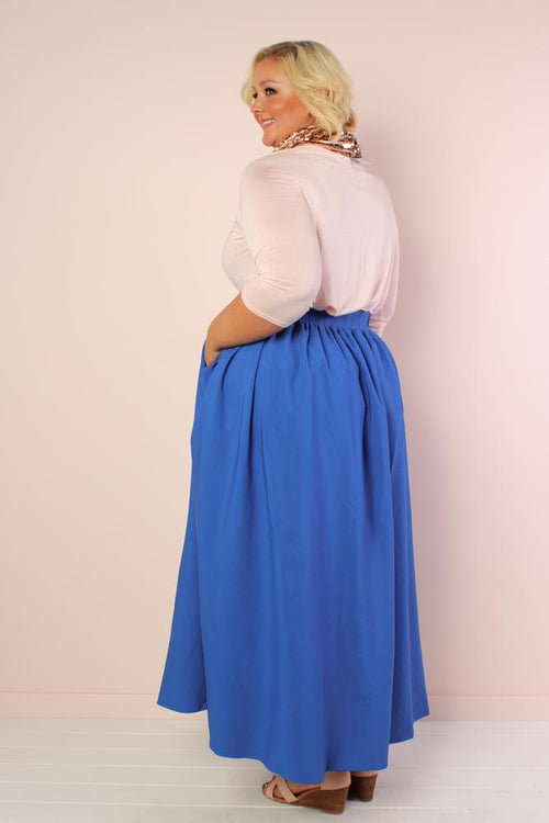 Blue Twirl Skirt
