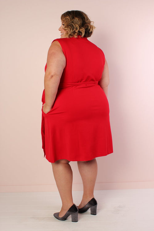 The Power Dress - Red