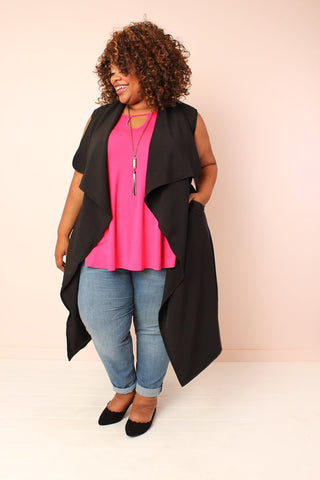 Corinne Cardigan - Black