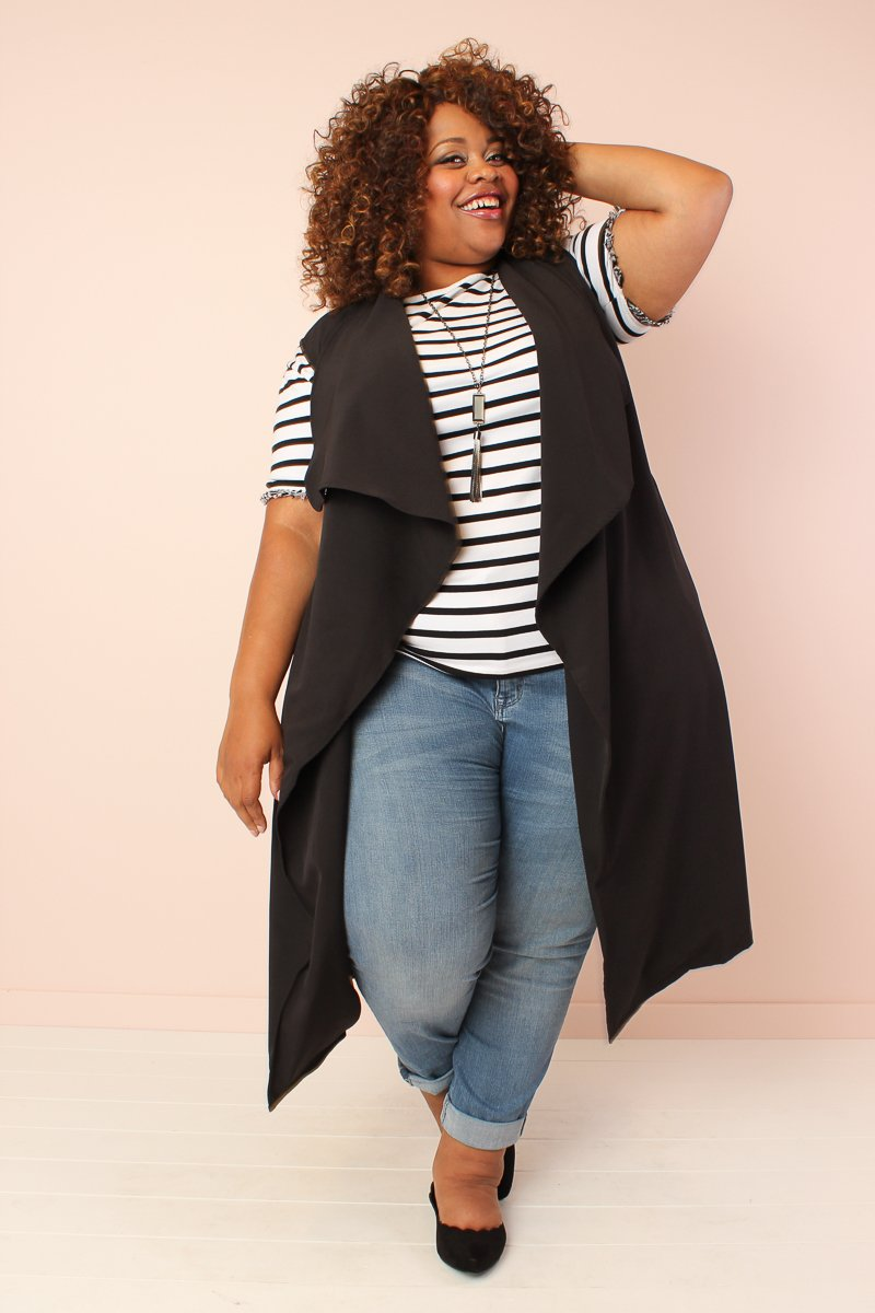 Chicest Of Them All Vest - Black