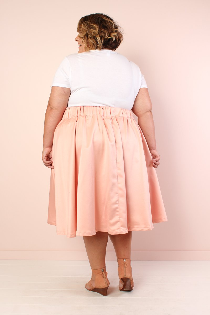 Whimsy Bow Skirt - Blush