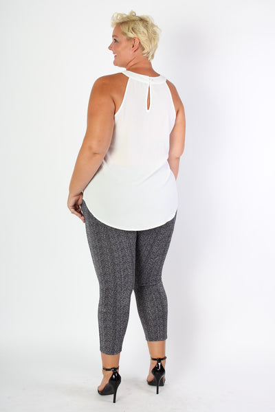 Plus Size Clothing for Women - Patterned Leggings - Society+ - Society Plus - Buy Online Now! - 3