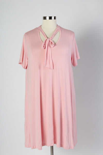 Plus Size Clothing for Women - Bubblegum Bow Tie Dress - Society+ - Society Plus - Buy Online Now! - 4
