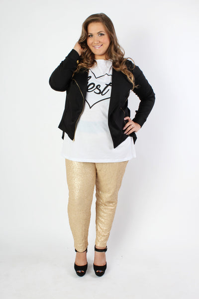 Plus Size Clothing for Women - Fancy Pants - Gold - Society+ - Society Plus - Buy Online Now! - 2