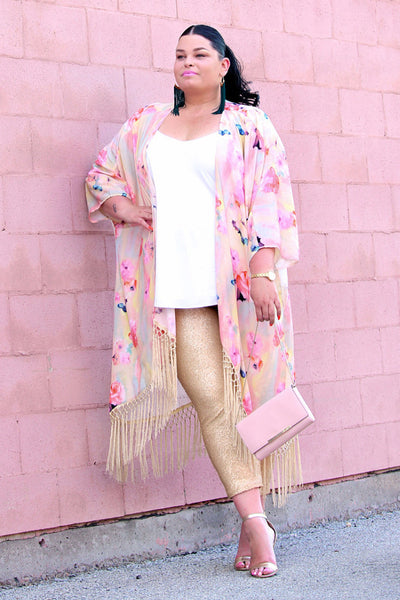 Plus Size Clothing for Women - Fancy Pants - Gold - Society+ - Society Plus - Buy Online Now! - 5