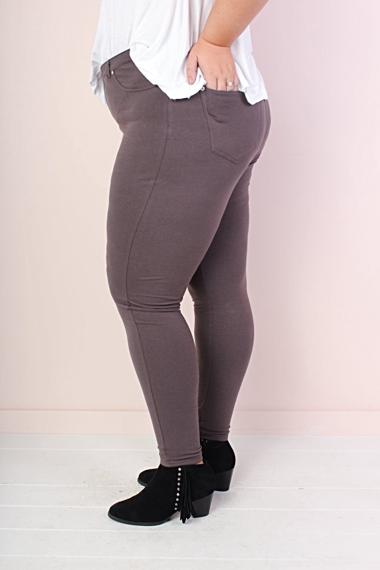 Stella Leggings - Charcoal