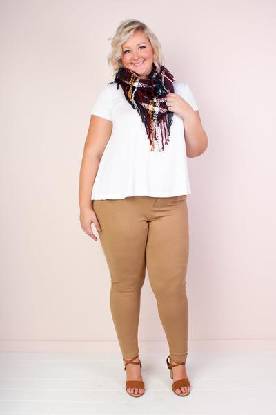 Stella Leggings - Tan