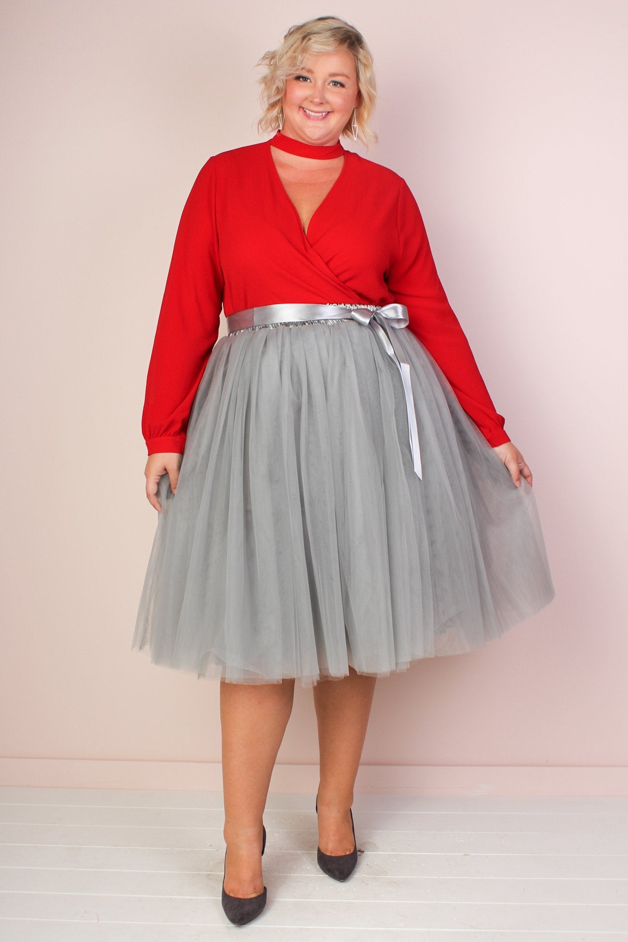 Society+ Short Premium Tutu - Grey