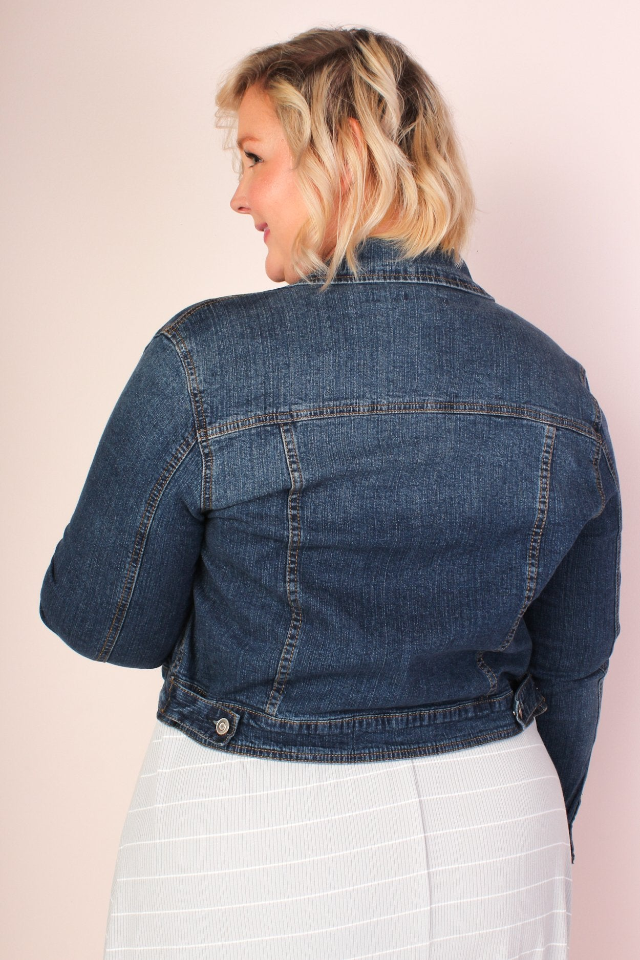 Leann Stretch Denim Jacket