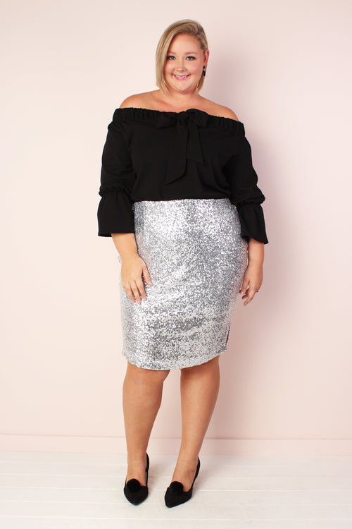 Broadway Sequin Skirt