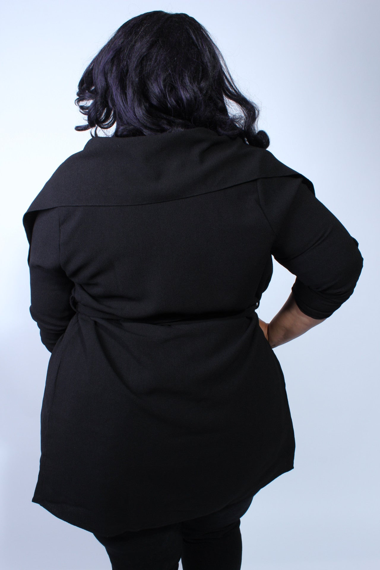 Plus Size Clothing for Women - Corinne Cardigan - Black - Society+ - Society Plus - Buy Online Now! - 4