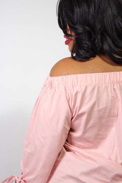 Plus Size Clothing for Women - Eva Off-The-Shoulder Top - Rose - Society+ - Society Plus - Buy Online Now! - 5