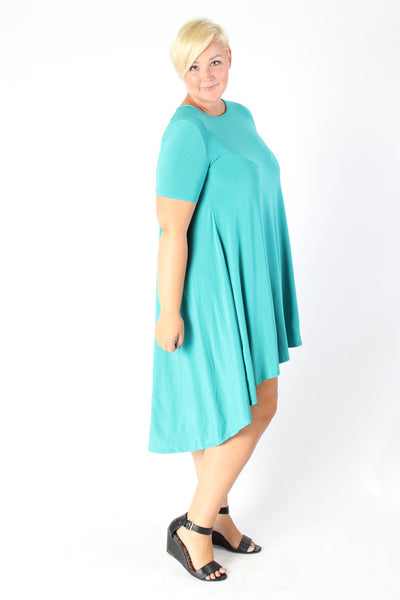 Plus Size Clothing for Women - Darling High Low Dress - Society+ - Society Plus - Buy Online Now! - 3