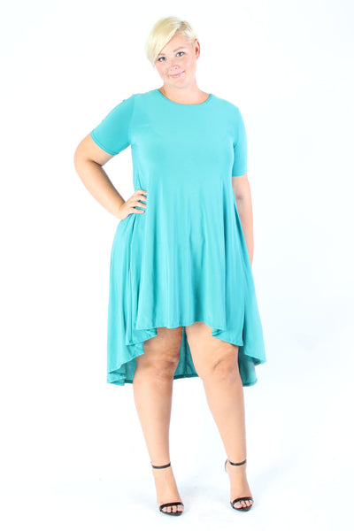 Plus Size Clothing for Women - Darling High Low Dress - Society+ - Society Plus - Buy Online Now! - 2