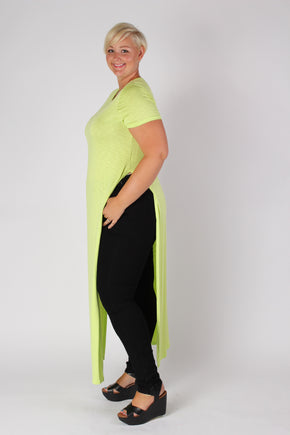 Plus Size Clothing for Women - Neon Side Slit Maxi Dress - Society+ - Society Plus - Buy Online Now! - 1