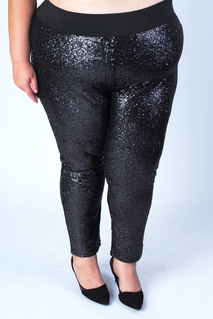 Plus Size Clothing for Women - Fancy Pants - Black - Society+ - Society Plus - Buy Online Now! - 1