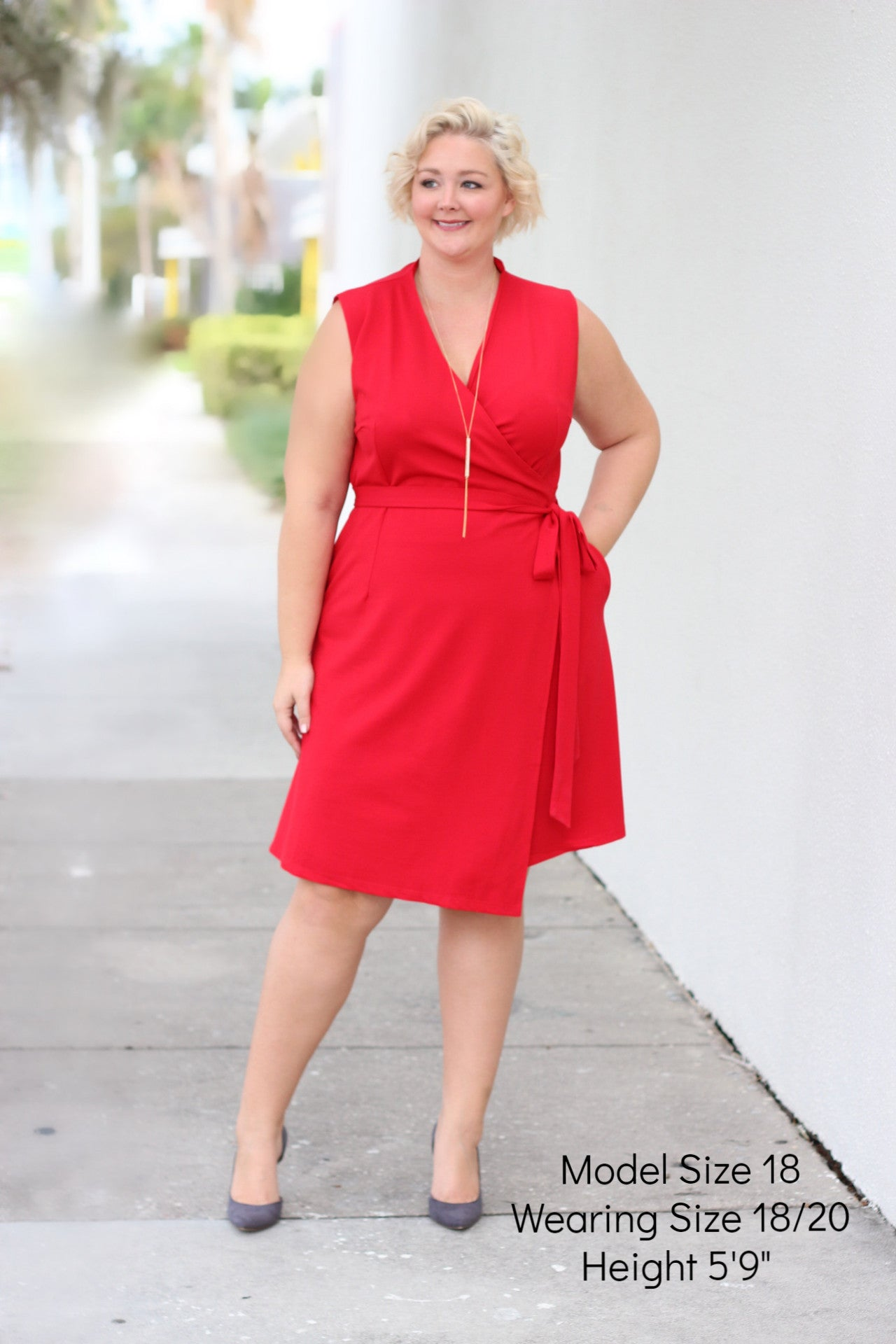 Plus Size Clothing for Women - The Power Dress - Red-Hold For Stitch Fix - Society+ - Society Plus - Buy Online Now! - 1