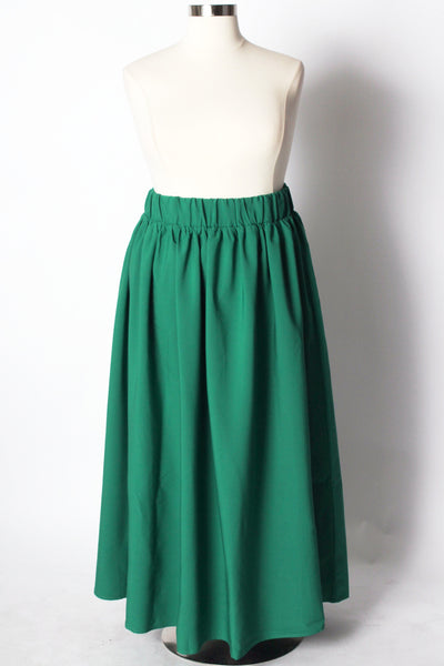 Plus Size Clothing for Women - Twirl Maxi Skirt w/ Pockets - Emerald City - Society+ - Society Plus - Buy Online Now! - 5