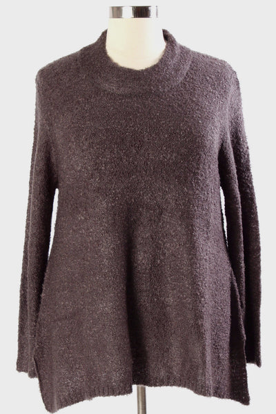 Plus Size Clothing for Women - Warm Hartley Sweater - Charcoal - Society+ - Society Plus - Buy Online Now! - 2