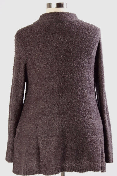 Plus Size Clothing for Women - Warm Hartley Sweater - Charcoal - Society+ - Society Plus - Buy Online Now! - 3