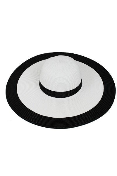 Plus Size Clothing for Women - Derby Darling Wide Brim Hat - White - Society+ - Society Plus - Buy Online Now! - 2