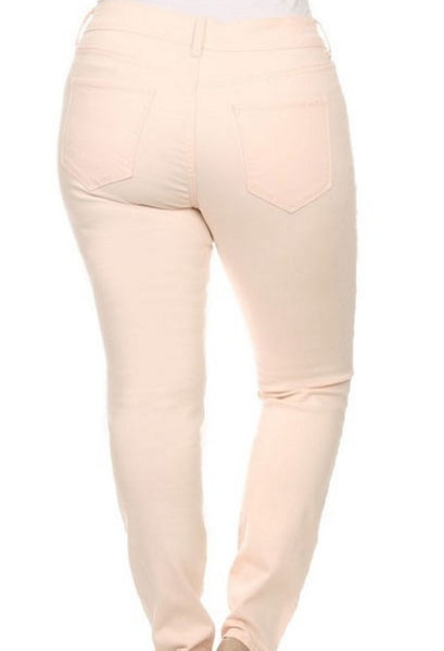 Plus Size Clothing for Women - Blush Distressed Jeans - Society+ - Society Plus - Buy Online Now! - 5