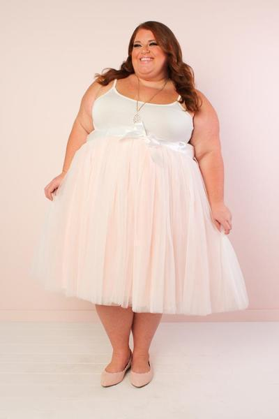 Short Society+ Premium Blush Tutu  *PRE-ORDER ONLY*