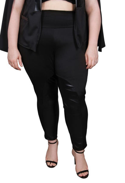 Plus Size Clothing for Women - Society+ Riding Pants - Black - Society+ - Society Plus - Buy Online Now! - 2