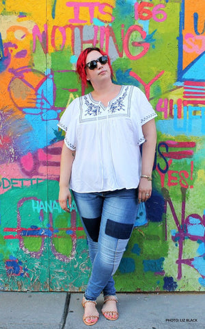 Plus Size Clothing for Women - P.S. It's Fashion Soft Top - Society+ - Society Plus - Buy Online Now!