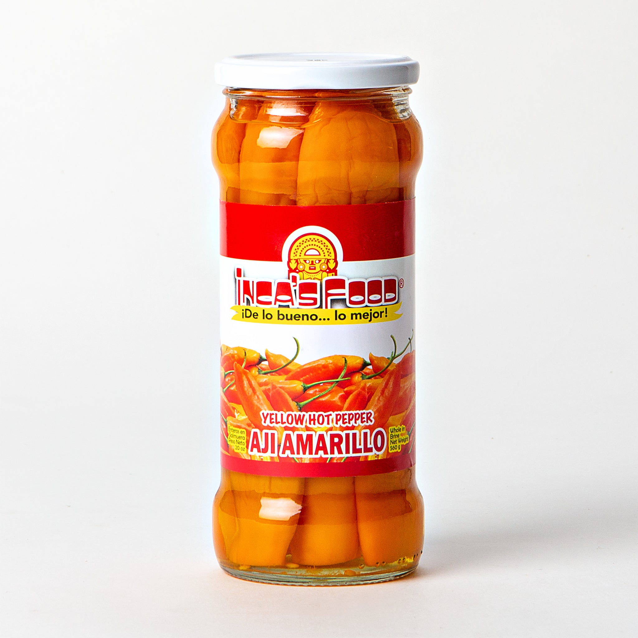 Incas Food Aji Amarillo Yellow Hot Pepper