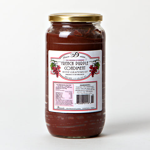 French Purple Condiment with Grapemust