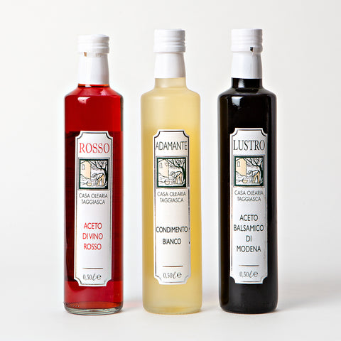 Casa Olearia Taggiasca Vinegar Set of 3