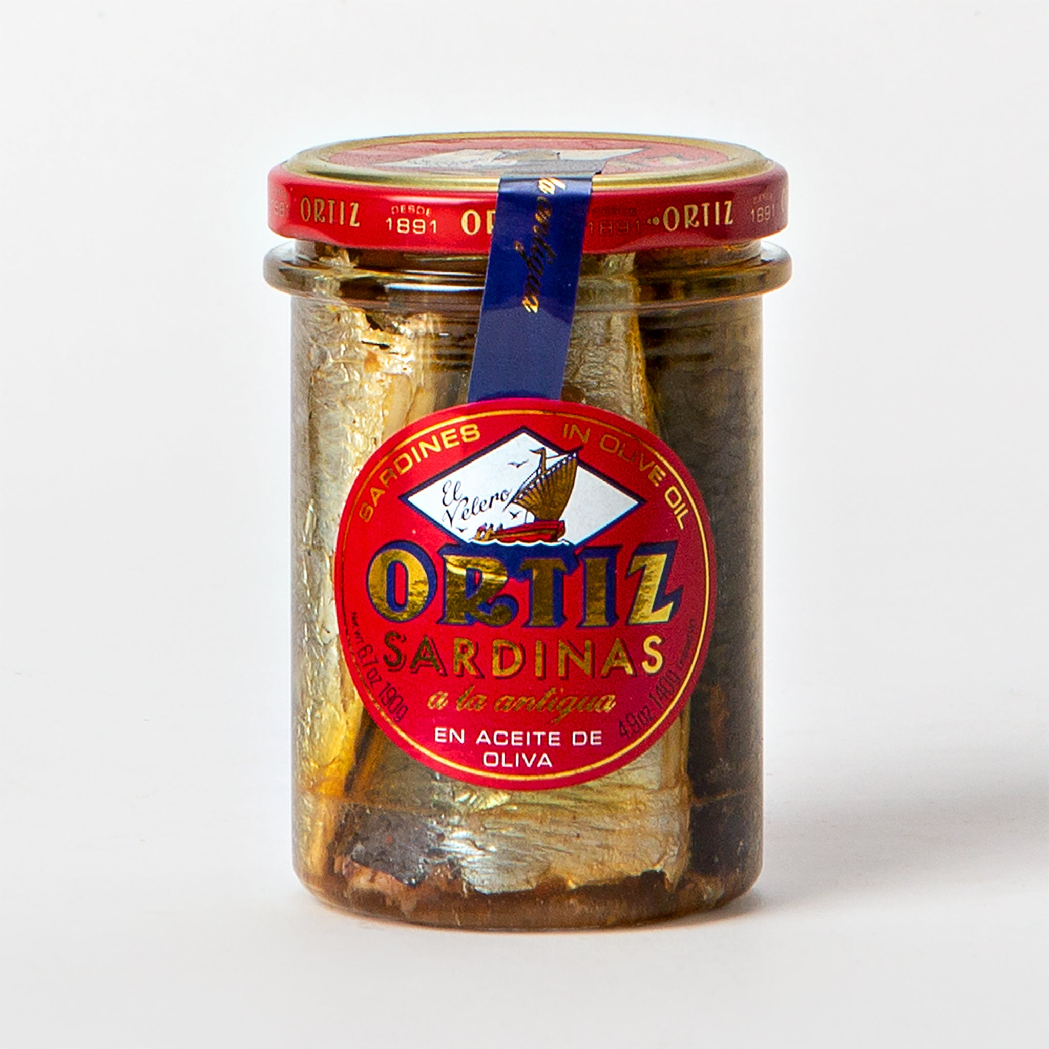 Ortiz Sardines Old Style in Olive Oil