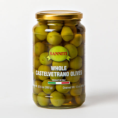 Sanniti Whole Castelvetrano Olives