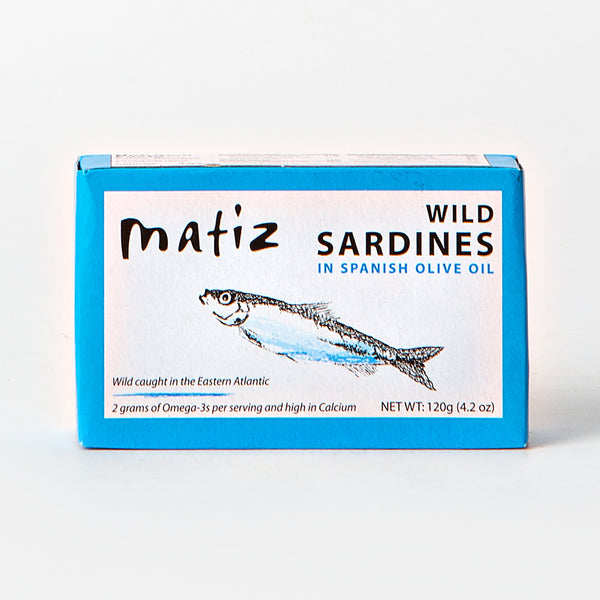 Matiz Wild Sardines in Spanish Olive Oil