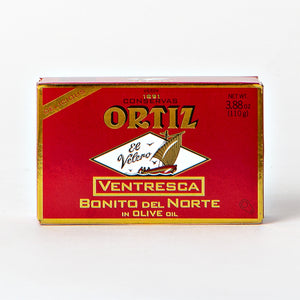 Ortiz Ventresca White Tuna Belly in Olive Oil 3.8 oz