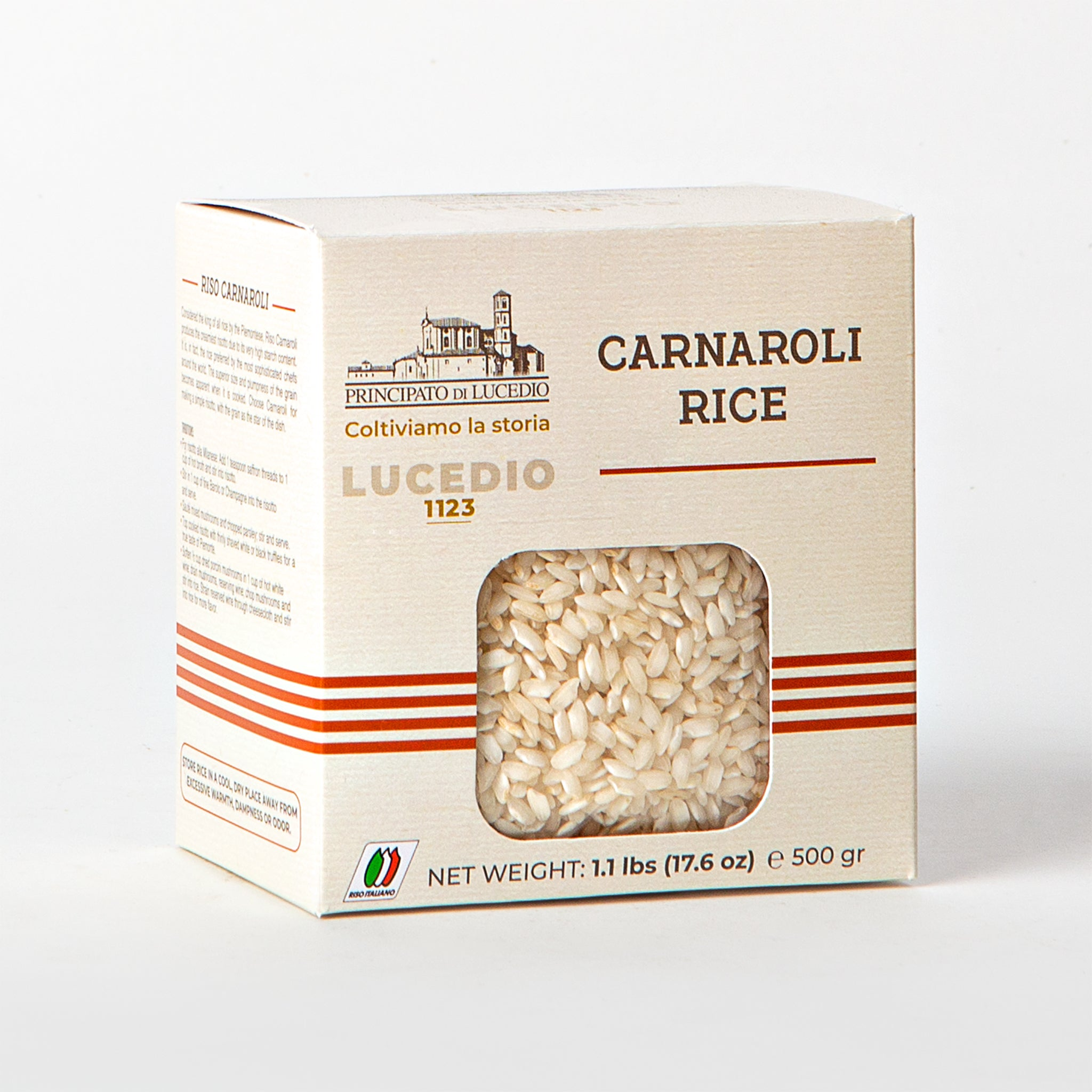Carnaroli Rice from Principato di Lucedio