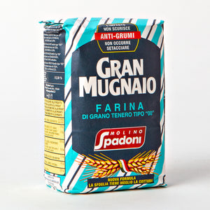 "Soft Wheat ""00"" Flour Gran Mugnaio by Molino Spadoni"