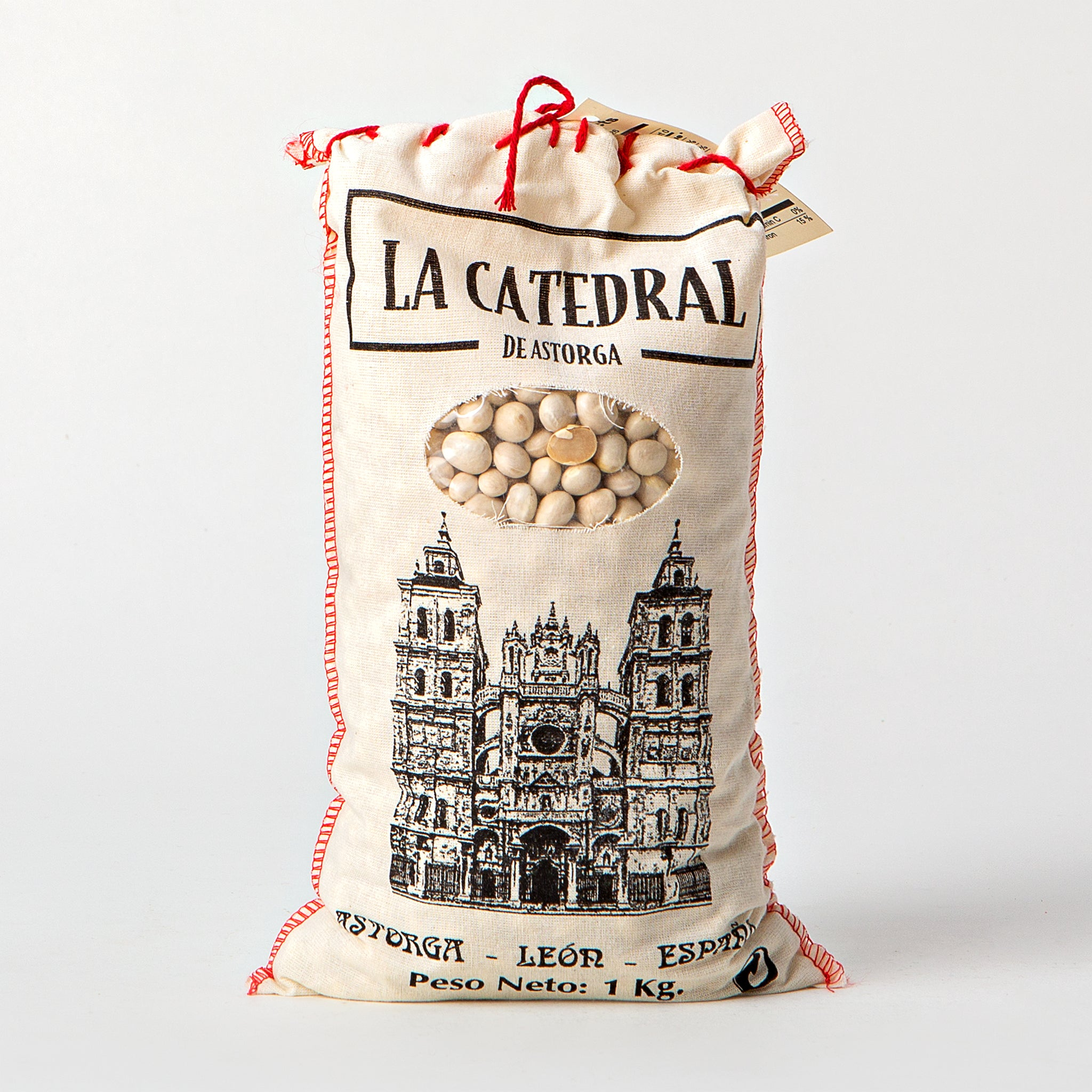 La Catedral Dried White Round Pochas Beans