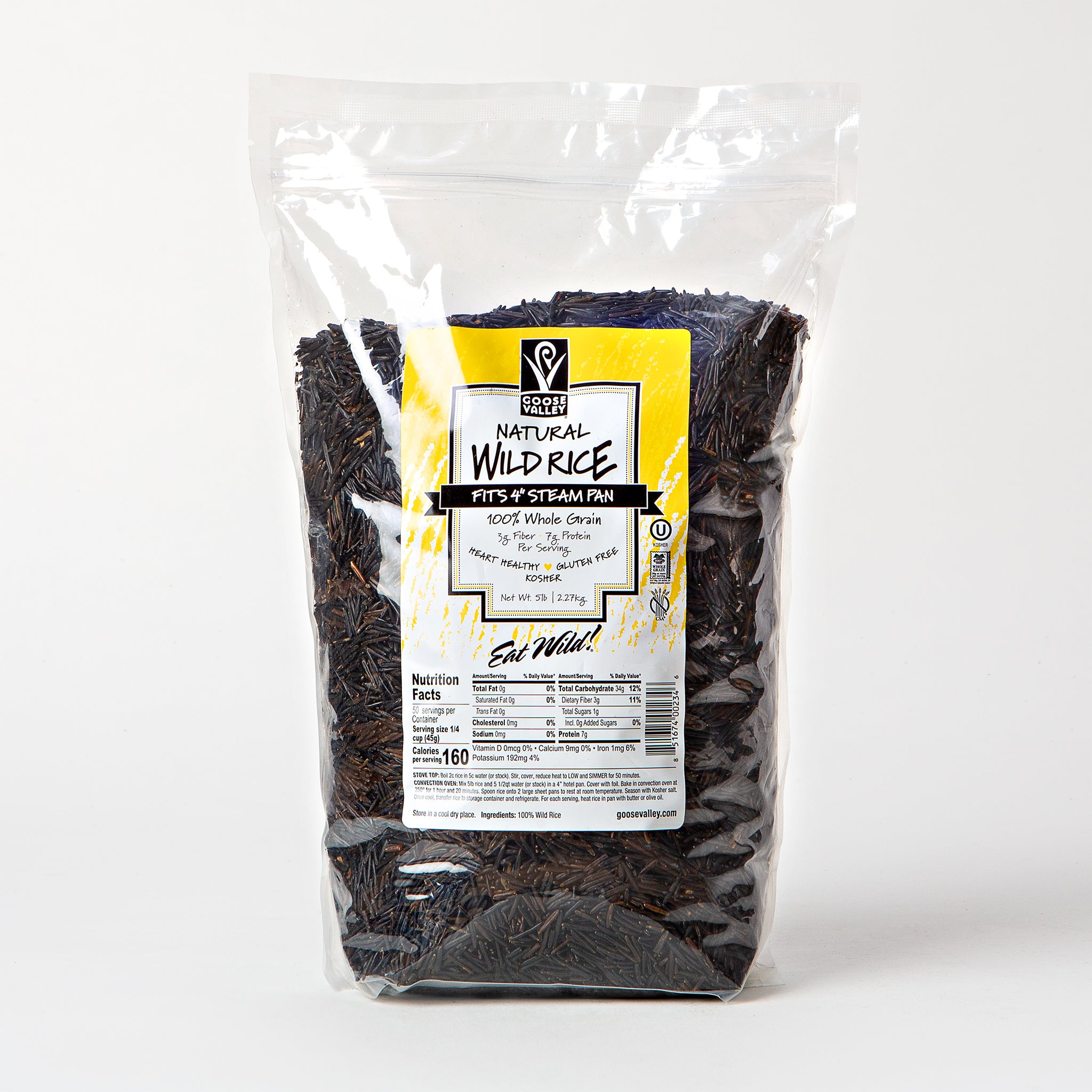 Goose Valley Natural Wild Rice