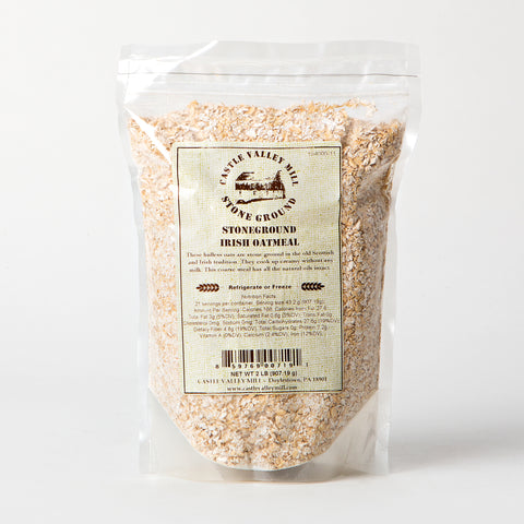 Castle Valley Mill Stoneground Irish Oatmeal