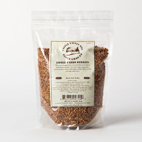 Castle Valley Mill Emmer Farro Berries