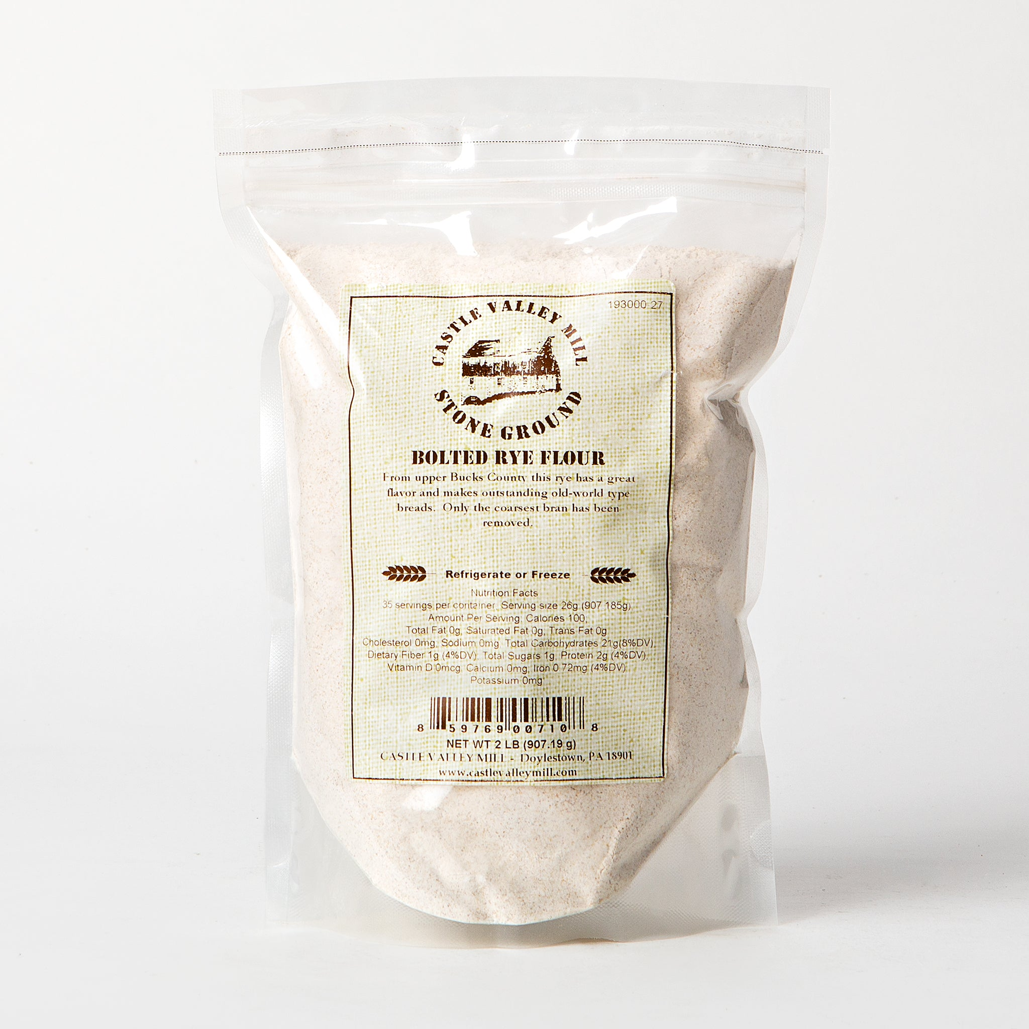 Castle Valley Mill Bolted Rye Flour