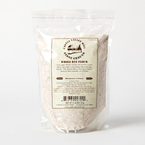 Castle Valley Mill Whole Rye Flour